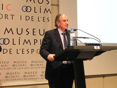 Alberto Durán, president de la Federació Catalana de Golf