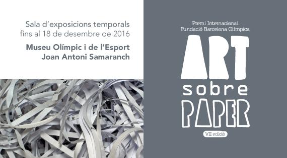 VII Premi Internacional Fundació Barcelona Olímpica · Art sobre paper