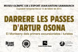 Darrere les passes d'Artur Osona. El Montseny dels primers excursionistes i turistes