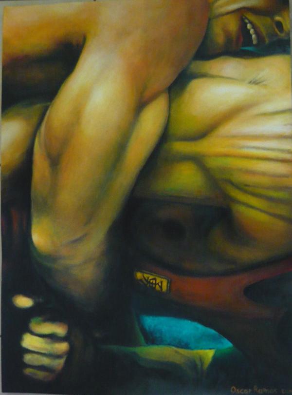 """""""¡¡Lucha!!"""" - Oscar Alberto Ramos"""