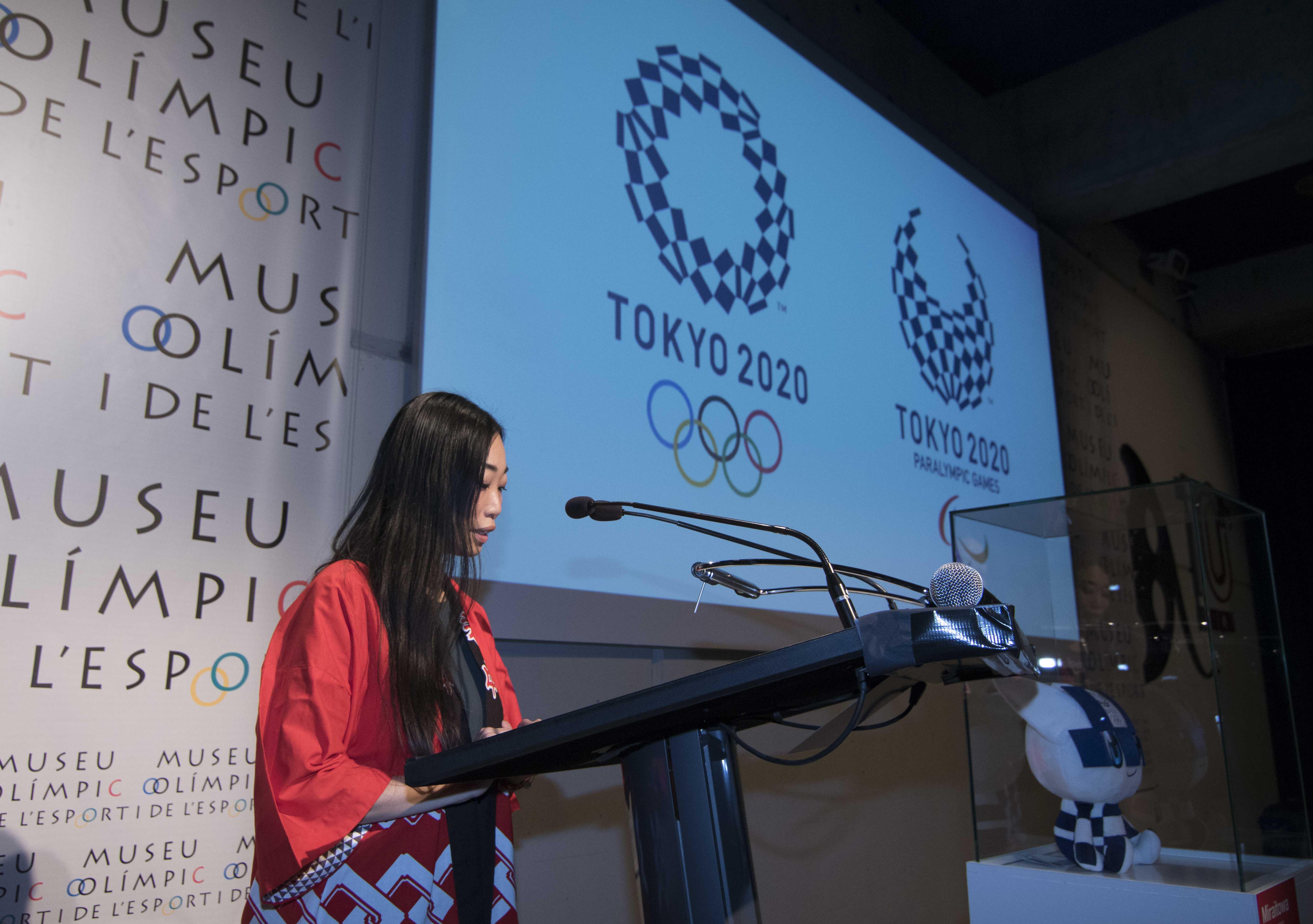 Recepcio TOKIO2020 Museu Olímpic Barcelona