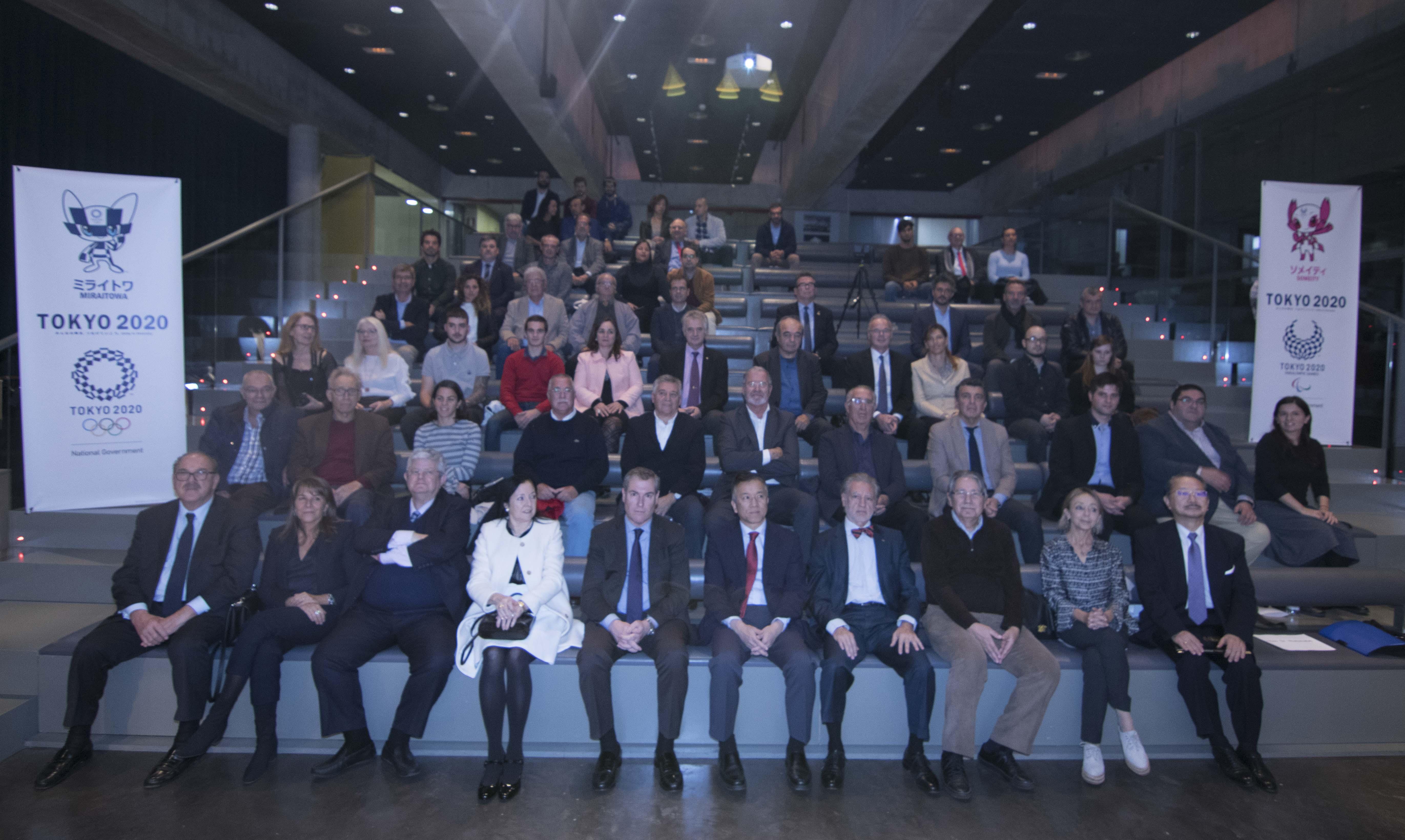 Recepcio TOKIO2020 Museu Olímpic Barcelona 13