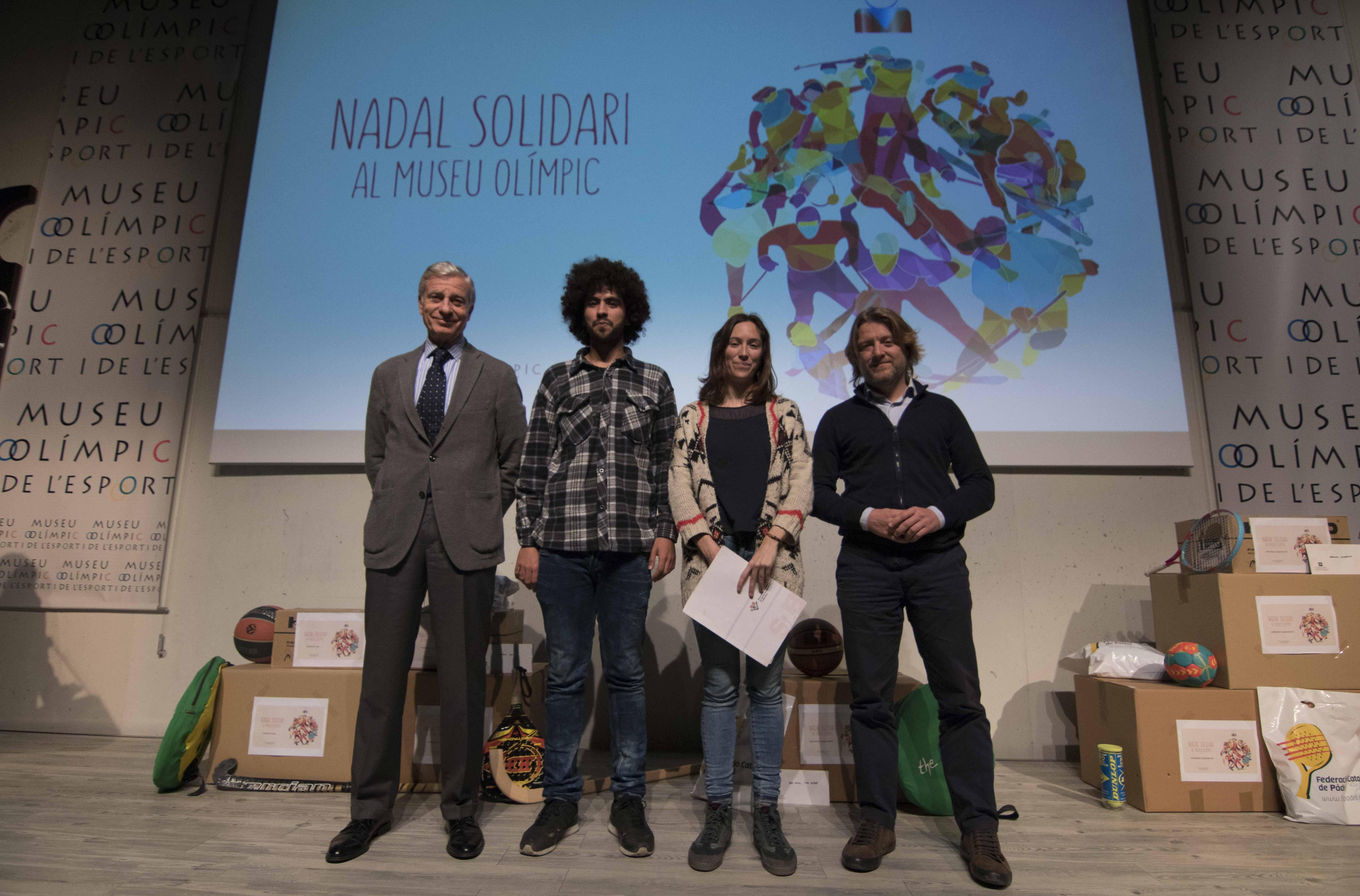 Genaro Millet, Hichan Chichati, Adriana Cabeceran, David Escude