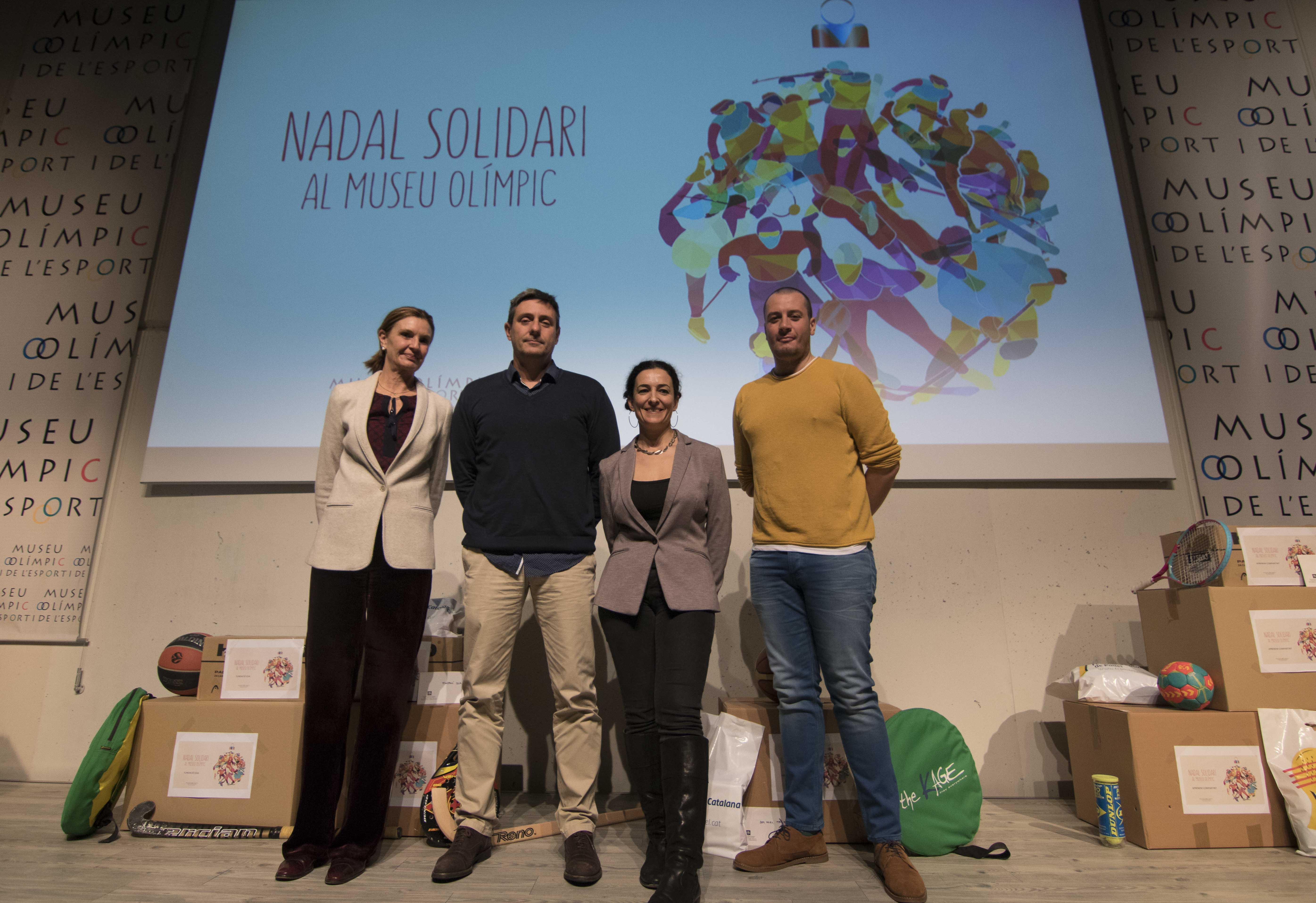 Mª Victoria De Argila, Lluís Gràcia, Núria Esterri, Jon Domínguez