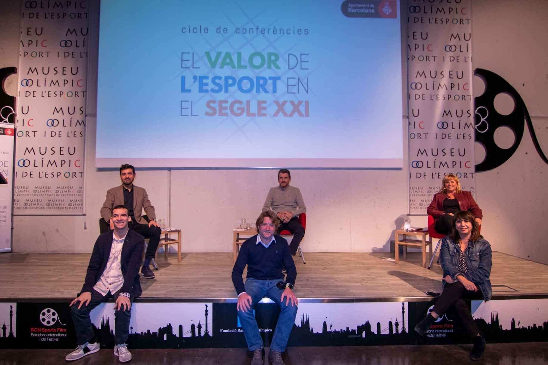 Jordi Fandiño, Juan Carlos Unzue, Montserrat Ferrero, Marc Fuentes, David Escudé i Mireia Vicente