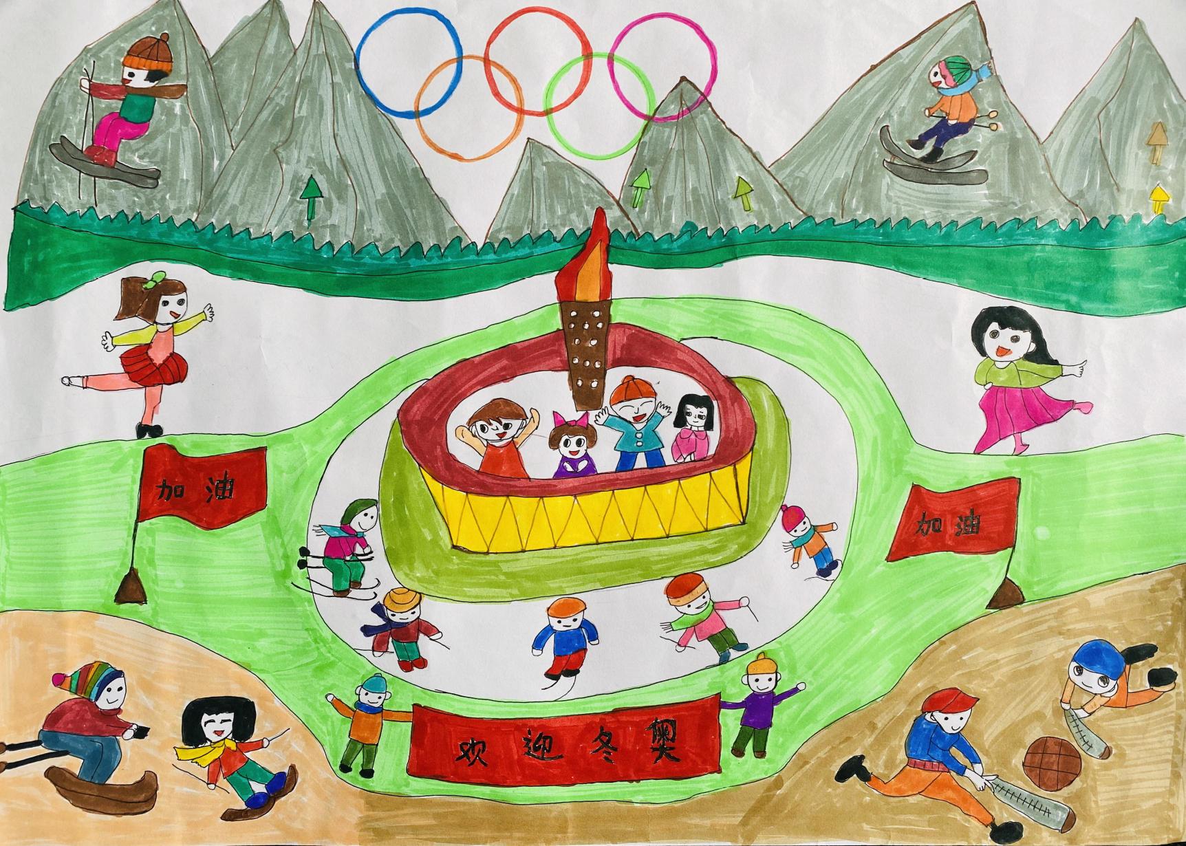 《少年冬奥会》Junior Winter Olympics+沈以菱 Shen Yiling+8+13707587151