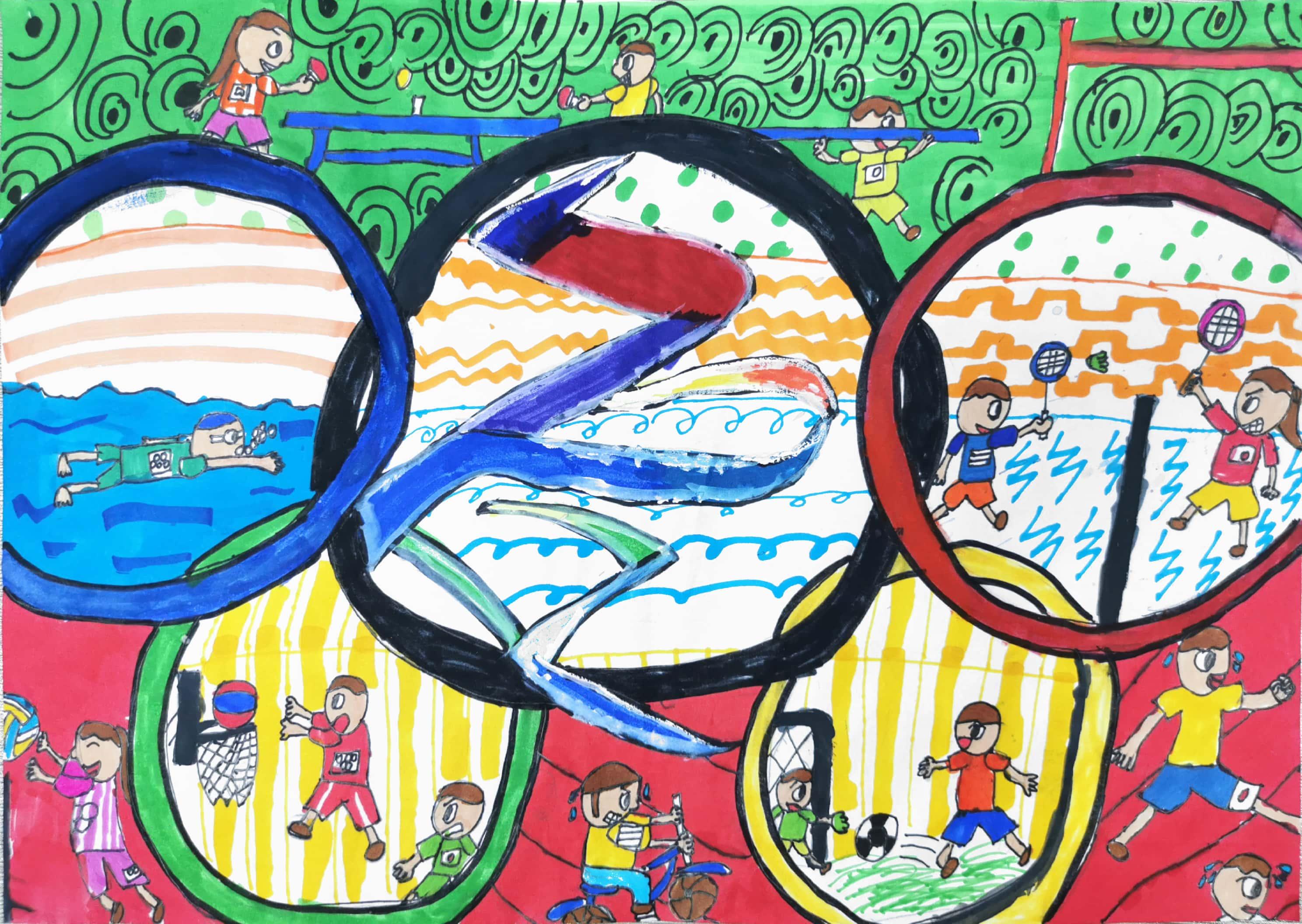《热闹的奥运会》Lively Olympics+周翼霄 Zhou Yixiao