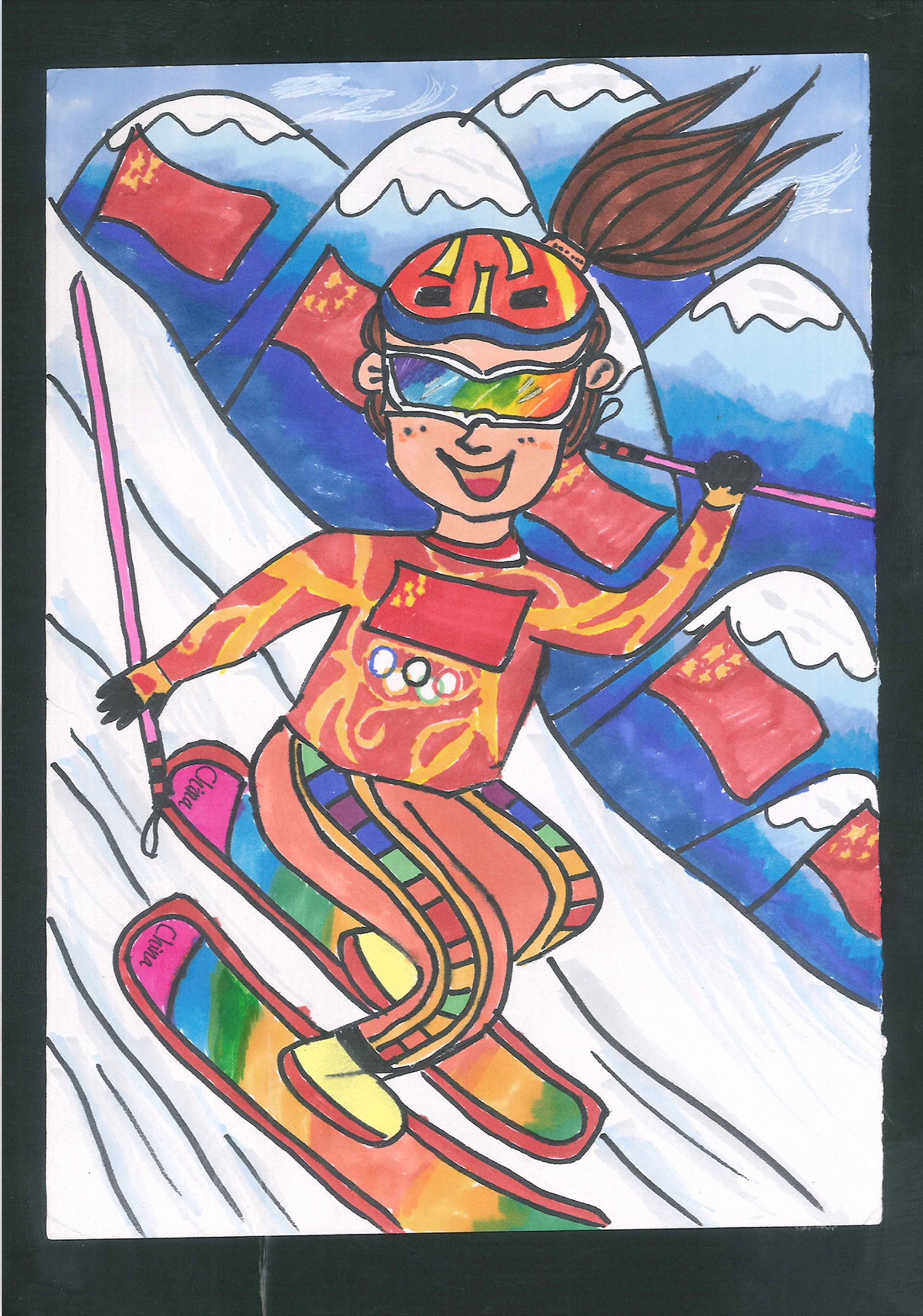 助力冬奥 Inspire The Winter Olympics+孙高晅 Sun Gaoxuan