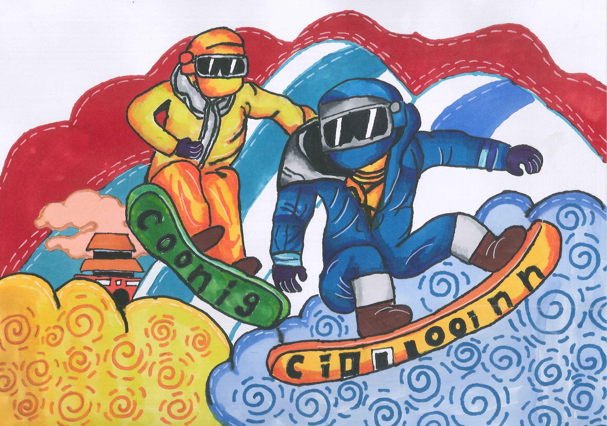 单板绝技 Snowboard Stunt+刘翰林 Liu Hanlin