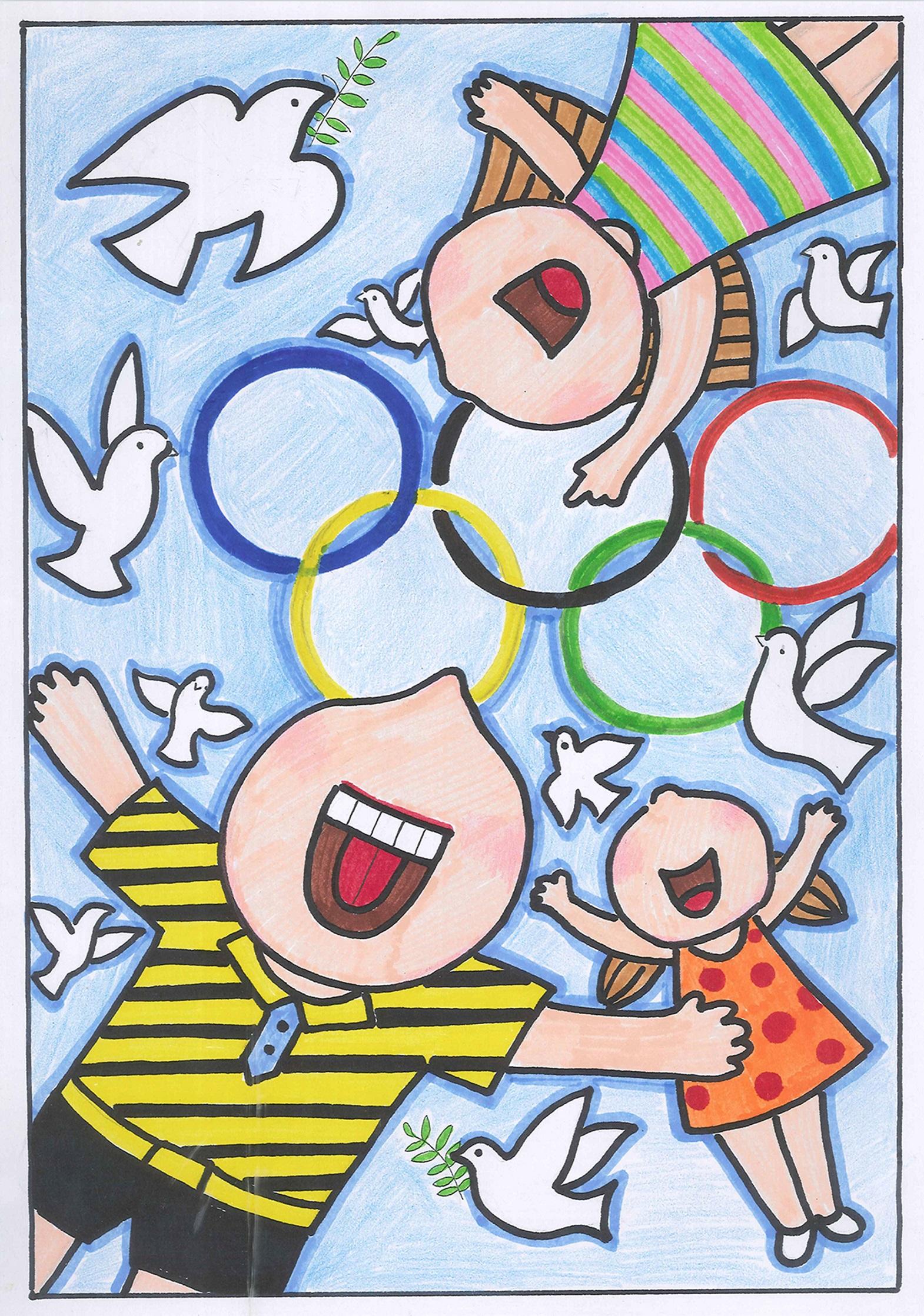 和平奥运 Peaceful Olympics+王子铮 Wang Zizheng