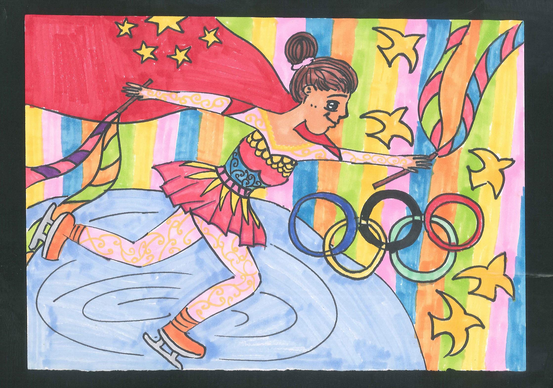 我为祖国争光 I Win Glory For The Motherland+冯怡然 Feng Yiran