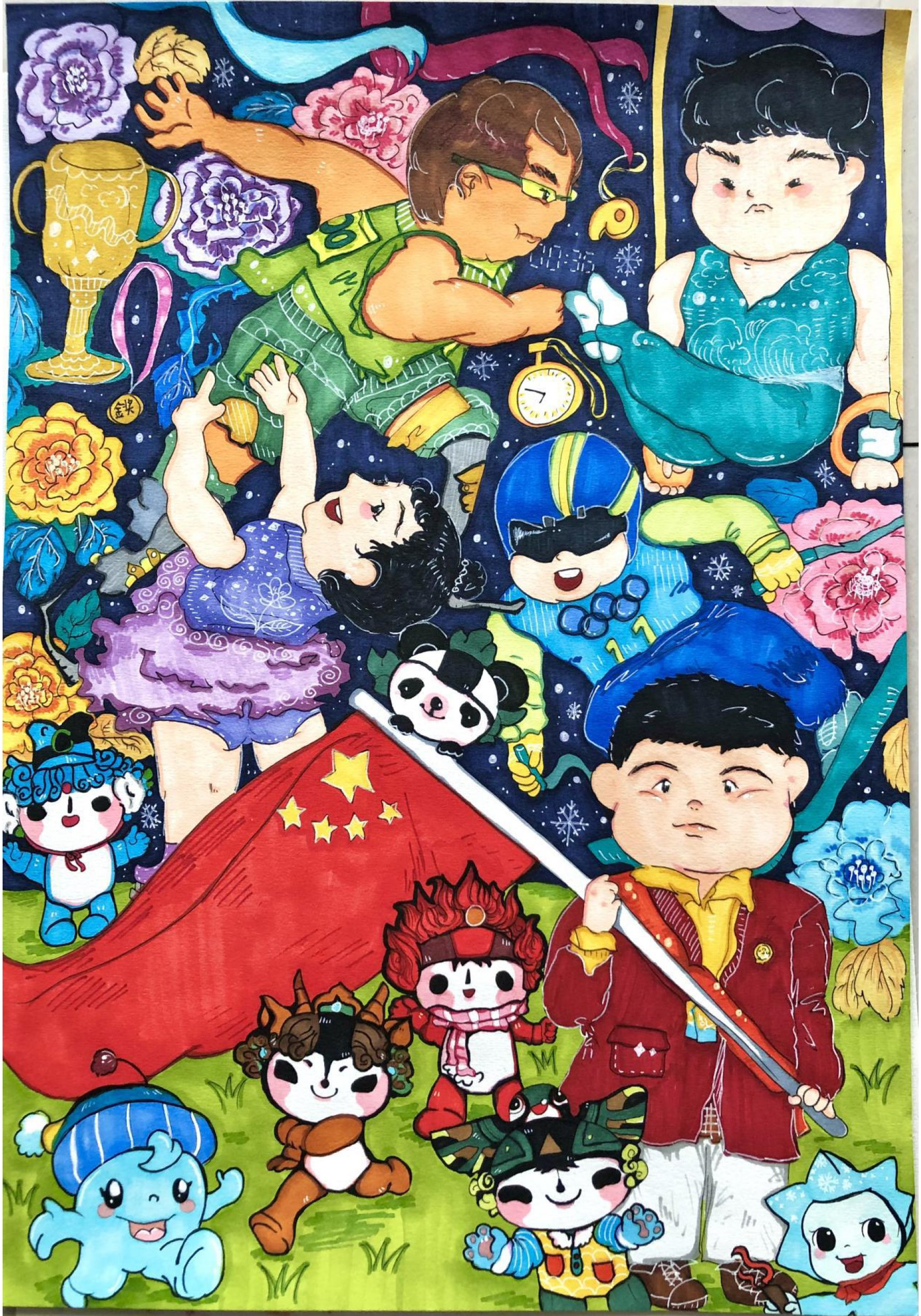 我心中的奥运 Olympics In My Heart 曾炜家 Zeng Weijia