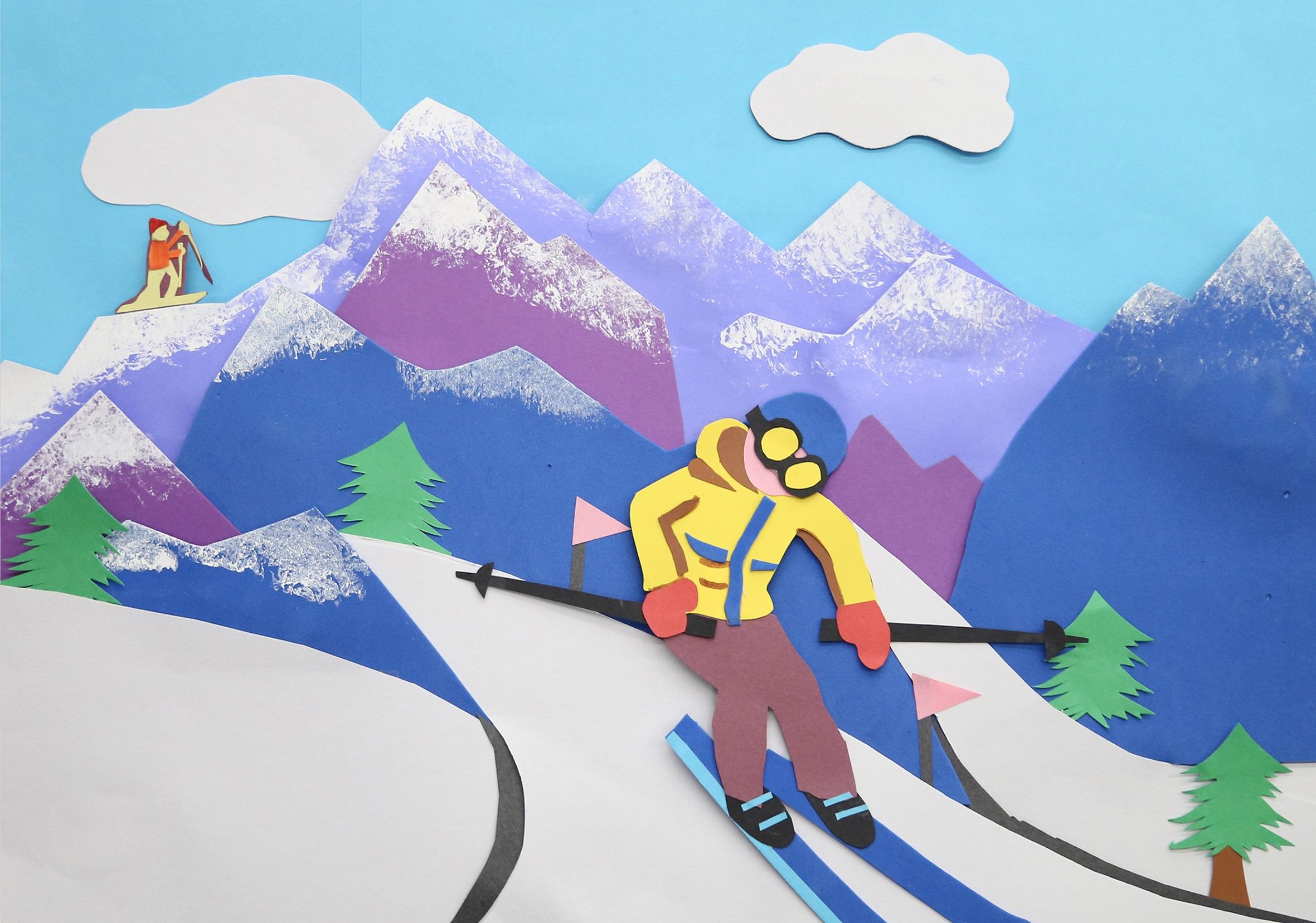 我是滑雪运动员 I Am A Skier+杨彤 Yang Tong