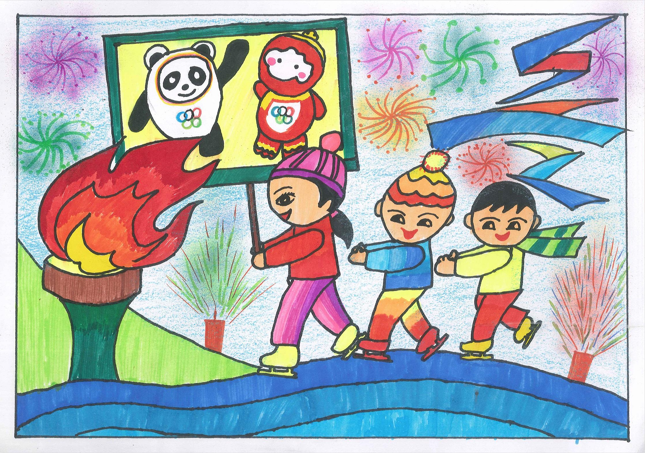 迎冬奥 Welcome To The Winter Olympics+王钰彤 Wang Yutong